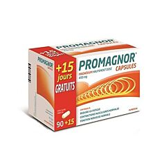 Promagnor Magnesium 450mg 90 Capsules + 15 Gratis