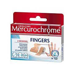 Mercurochrome 12 Vingerpleisters