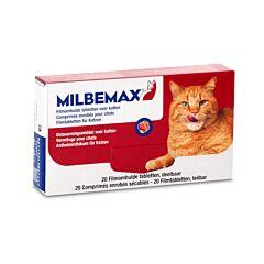 Milbemax Ontworming - Katten - 20 Filmomhulde Tabletten