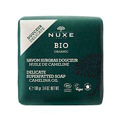 Nuxe Bio Milde Overvette Zeep Camelinaolie 100g