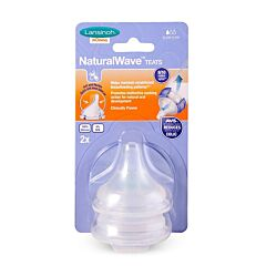 Lansinoh NaturalWave Speen Trage Voeding 2 Stuks