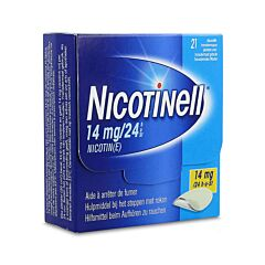 Nicotinell 14mg/24u 21 Pleisters