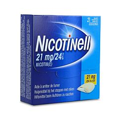 Nicotinell 21mg/24u 21 Pleisters
