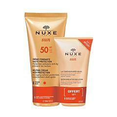 Nuxe Sun Promopack Smeltzachte Crème SPF50 Gezicht 50ml + GRATIS Verfrissende Aftersun Gelaat/ Lichaam 50ml