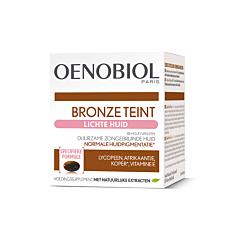 Oenobiol Bronze Teint Lichte Huid 30 Capsules