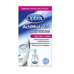 Optrex ActiMist 2in1 Oogspray Droge/Geïrriteerde Ogen 10ml