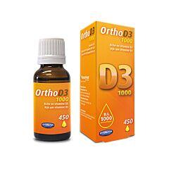 Orthonat Ortho D3 1000UI Druppels 20ml