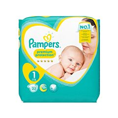 Pampers Premium Protection Luiers - Maat 1 - 22 Stuks