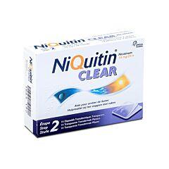 NiQuitin Clear 14mg 14 Pleisters