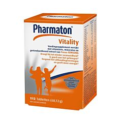 Pharmaton Vitality Geheugen/Concentratie/Energie 112 Tabletten
