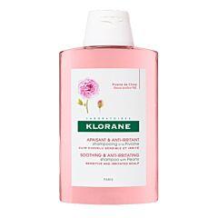 Klorane Shampoo Pioenroos 400ml