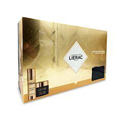 Lierac Geschenkkoffer Premium La Crème Soyeuse 50ml + Premium La Cure 30ml + GRATIS Opbergtasje