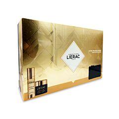Lierac Geschenkkoffer Premium La Crème Voluptueuse 50ml + Premium La Cure 30ml + GRATIS Opbergtasje