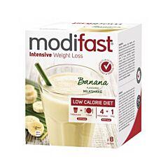Modifast Intensive Milkshake Banaan 8x55g