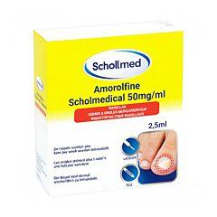 Schollmed Amorolfine Nagellak 50mg/ml 2,5ml