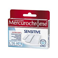 Mercurochrome Sensitive 40 Pleisters