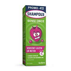 Shampoux Sensi Once Anti-Luizen/ Neten Spray 100ml + Luizenkam Promo - €2