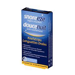 Snoreeze Orale Strips 14 Stuks