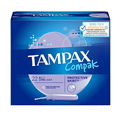 Tampax Compak Lites 22 Stuks