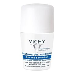 Vichy Deodorant Roller Zonder Aluminiumzouten 24 Uren 50ml