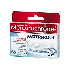 Mercurochrome Waterproof Pleisters 16 Stuks