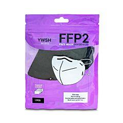 Mondmaskers FFP2 - Zwart - CE Gekeurd - 20 Stuks