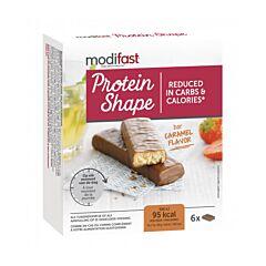 Modifast Protein Shape Reep Melkchocolade/ Karamel 6x27g