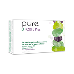 Pure D Forte+ 90 Kauwtabletten