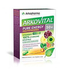 Arkovital Pure Energy 50+ - 60 Capsules