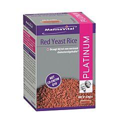 MannaVital Red Yeast Rice Platinum 60 V-Capsules