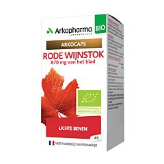 Arkocaps Rode Wijnstok Bio 45 Capsules NF