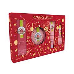 Roger & Gallet Geschenkkoffer Fleur De Figuier - 4 Producten