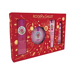 Roger & Gallet Geschenkkoffer Gingembre Rouge - 4 Producten