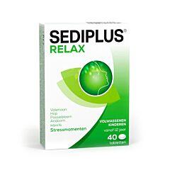 Sediplus Relax 40 Tabletten