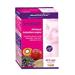MannaVital Selenium 60 Capsules