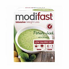 Modifast Intensive Soep Aardappel/ Prei 8x55g