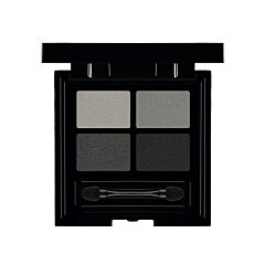 Les Couleurs De Noir Soft Touch Eye Shadow Quattro 01 Black Out