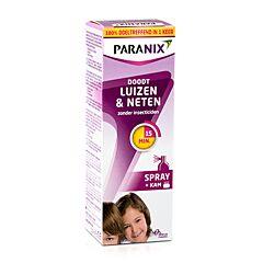 Paranix Behandelingsspray Luizen & Neten 100ml + Kam