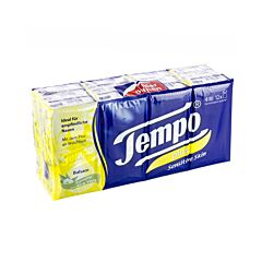 Tempo Plus Zakdoekjes Gevoelige Huid 12x9 Stuks