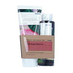 Korres The Guava Essence Kit: Hydraterende Bodymelk 200ml + GRATIS Douchegel 250ml