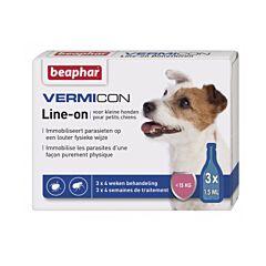 Beaphar Vermicon Line-on Kleine Hond 3x1,5ml