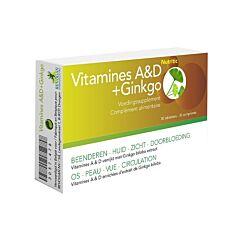 Vitamines A&D + Ginkgo 30 Tabletten