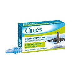 Quies Gehoorbescherming Antidrukfilter Vliegtuig Volwassenen 1 Paar