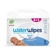 WaterWipes Biologisch Afbreekbare Vochtige Doekjes 300 Stuks Promo 4+1
