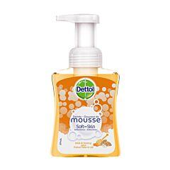 Dettol Soft On Skin Antibacteriële Zachte Mousse Melk & Honing 250ml