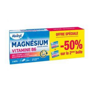 Alvityl Magnesium Vitamine B6 Promo 2x45 Tabletten 2de - 50%