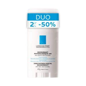 La Roche Posay 24u Fysiologische  Deodorant Stick Duo 2x40g