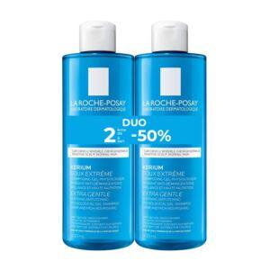La Roche Posay Kerium Extreem Zachte Shampoo Duo 2x400ml Promo 2de -50%