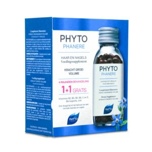 Phytophanère Haar & Nagels Promo Duo 2x120 Capsules