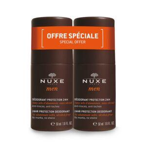 Nuxe Men Deo Roller 24u Duo 2x50ml Promo 2e -50%